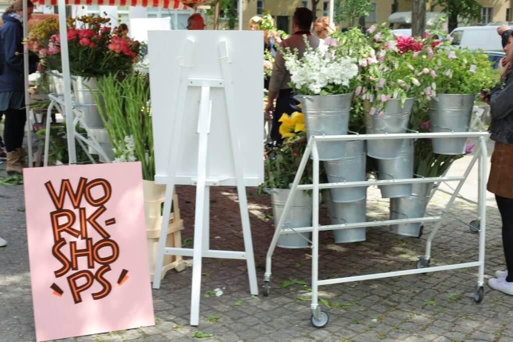 Flohmarkt Fesche Lotte, Trödelmarkt in Neukölln