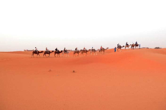Rundreise Marocko