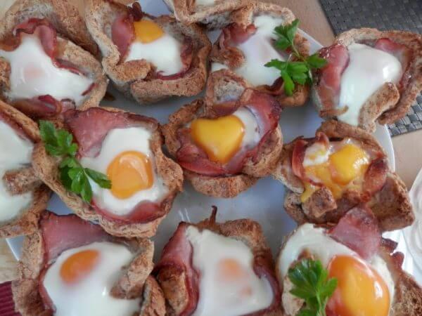 Eier mit Speck Muffins