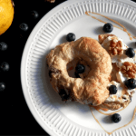 Frühstück: Blaubeer Bagels selber backen