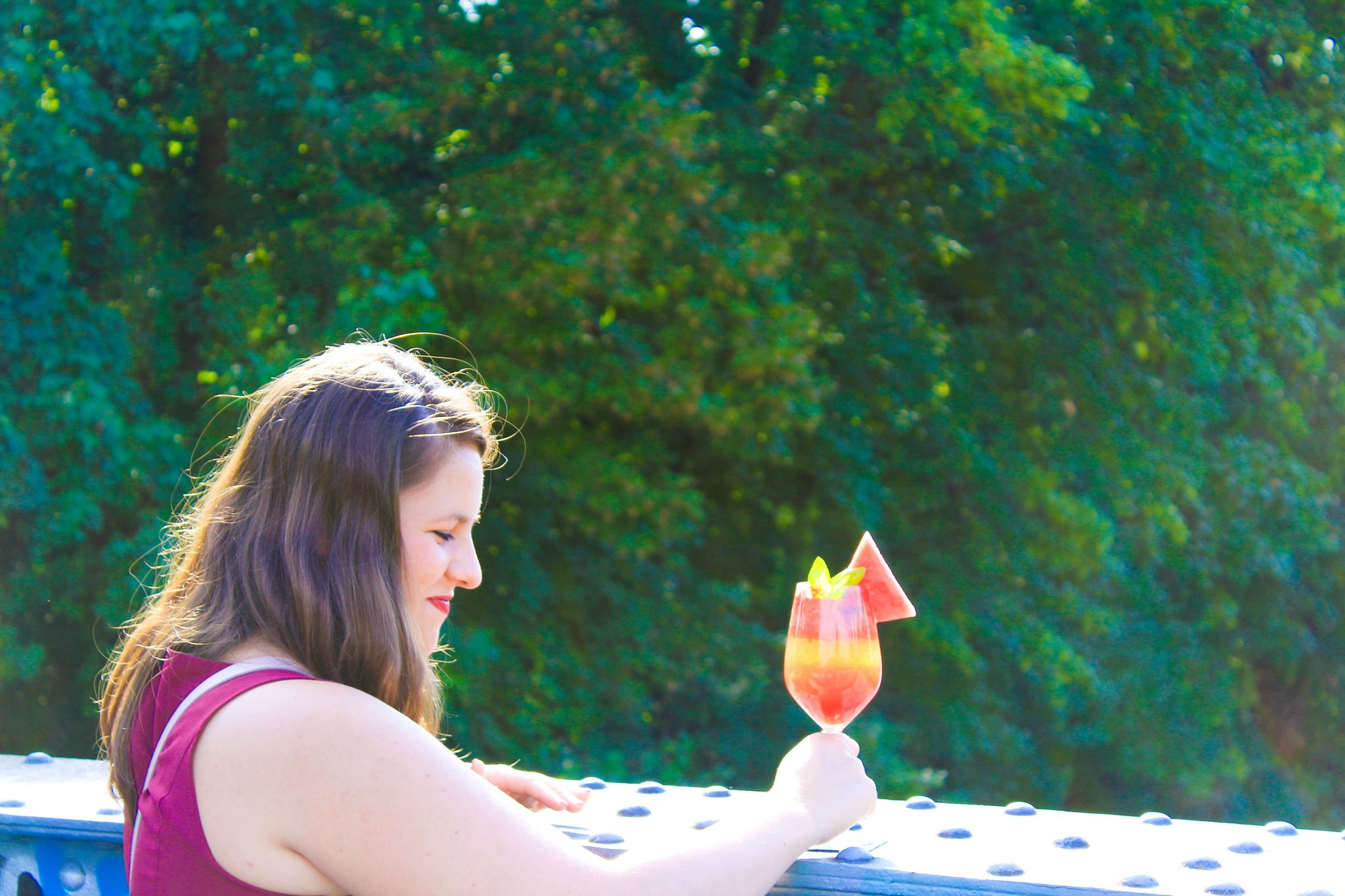Anzeige: Melonen-Basilikum-Prosecco mit silwy magnetic drinkware