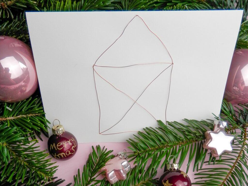 9 last minute Weihnachtskarten zum Selber machen