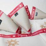 minimalistischer Adventskalender aus Toilettenpapierrollen