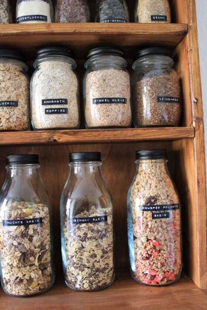 Müslibar selber machen, DIY für die Küche