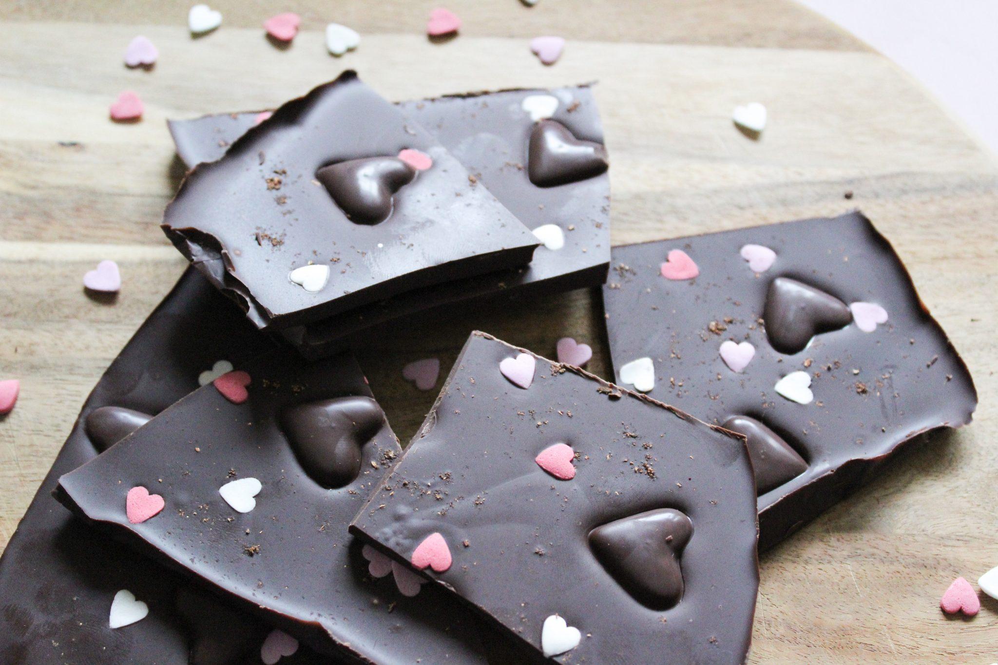 Schokolade selber machen – Valentinstagsgeschenk