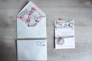 Hochzeitseinladungen selber machen DIY Anleitung