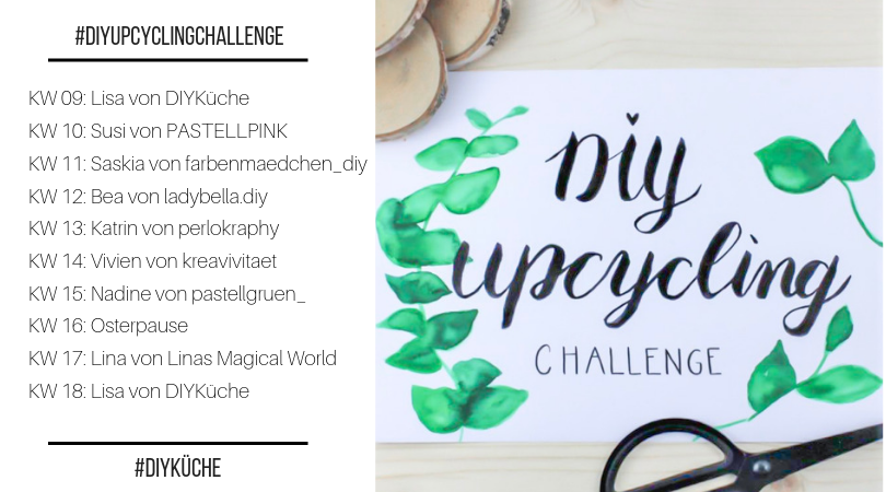 DIY Upcycling-Challenge 8 Blogger 8 Upcyclingideen