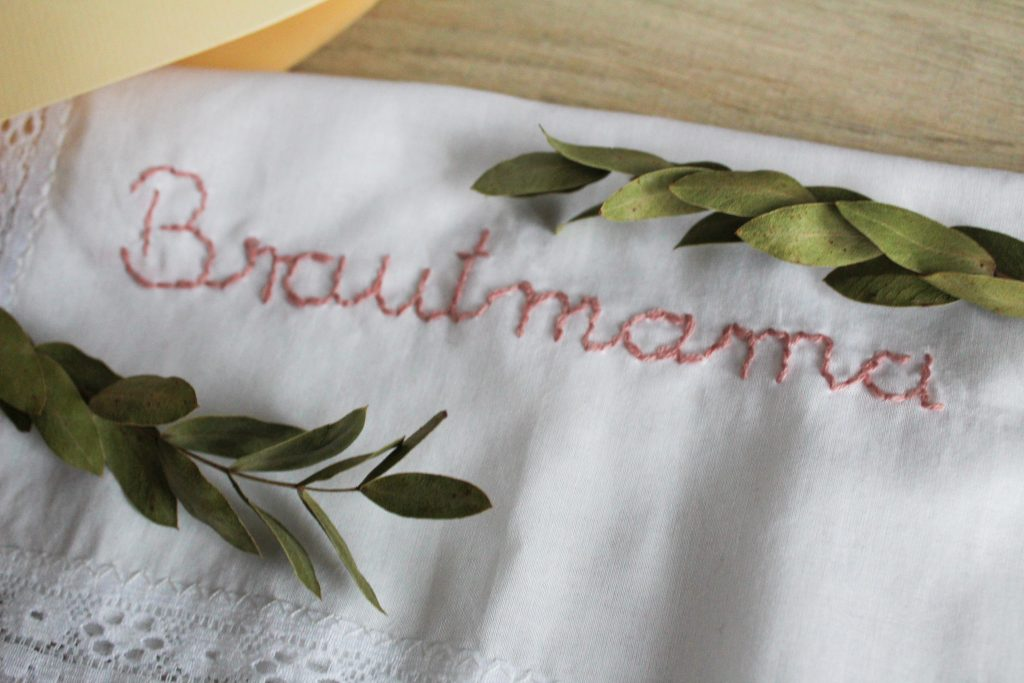 Stofftaschentuch Brautmama