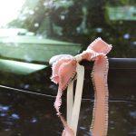 Autoschleife für die Hochzeit