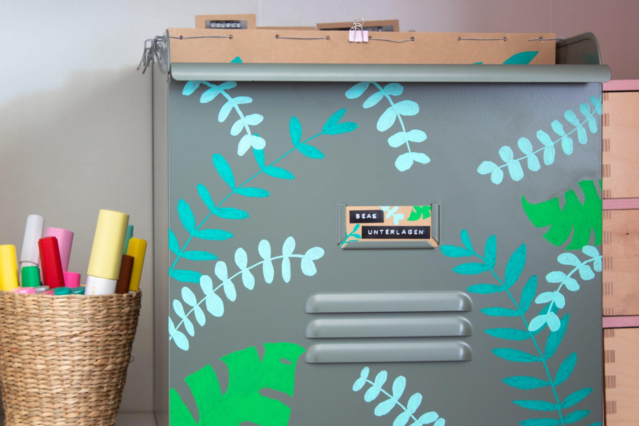 Werbung: DIY Hängeregister im Urban Jungle Look mit PILOT PINTOR