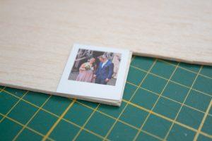 DIY Polaroid Magnet selber machen, Sofortbildkamera Bild als Geschenk Lady Bella
