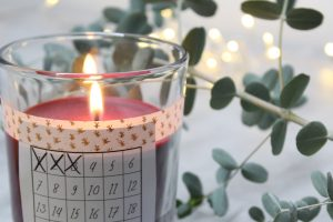 schlichter, einfacher & schneller DIY Adventskalender mit Anleitung zum Nachmachen und Verschenken von Lady Bella
