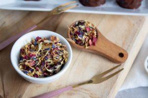 Rezept für Schwarzwälder Kirsch Kuchenpralinen selber backen wie Cake-Pops