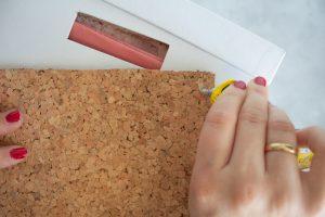DIY-Ordnungsboxen mit Pinnwand, Blogparade Ordnung im Bastelzimmer