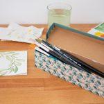 DIY-Pinselbox – ein Upcycling [Blogparade]