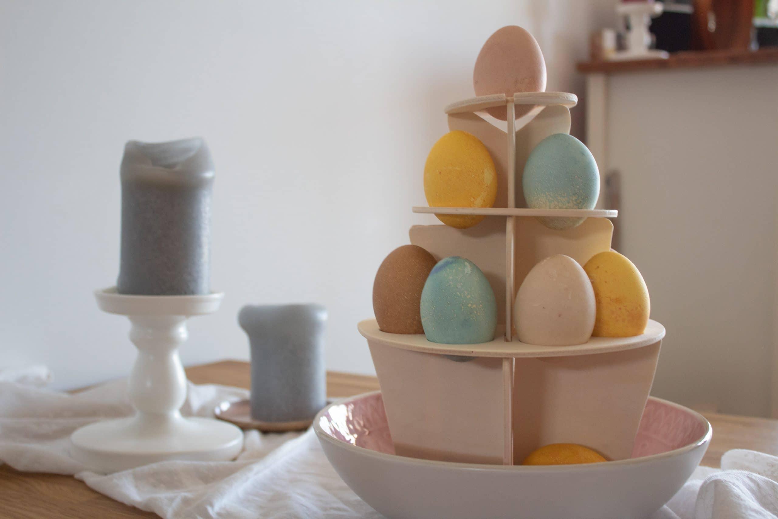 DIY Eierbaum zu Ostern selber bauen